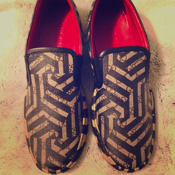 c3935b200c4 Gucci GG Caleido Dublin Slip On Sneakers